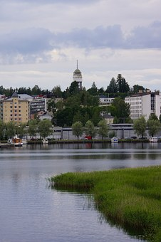 Finnish, Mikkeli, City, Port, Beach, Observation Tower