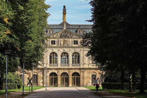 Palais, Park, Museum, Historically, Building, Dresden