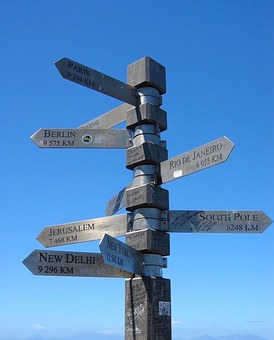 Sign, Post, Cape, Direction, Distance, Long, Sign Post