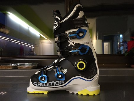 Ski Boot, Ski, Boots, Skiing, Activity, Wear, Footwear