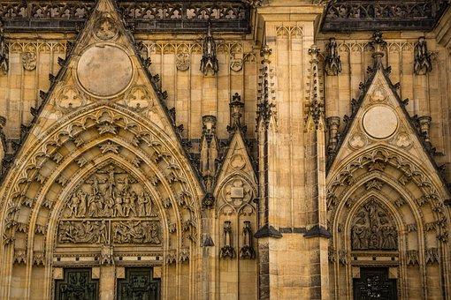 Golden City, Prague, St Vitus Cathedral, Dom