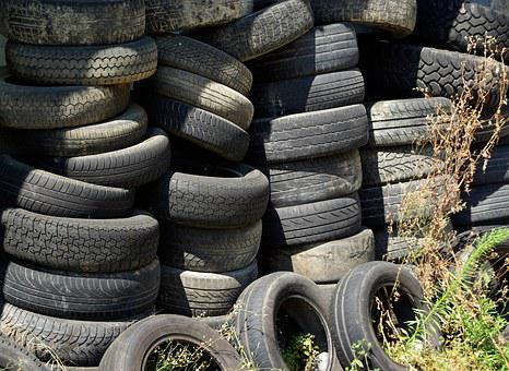 Tires, Waste Disposal, Recycling
