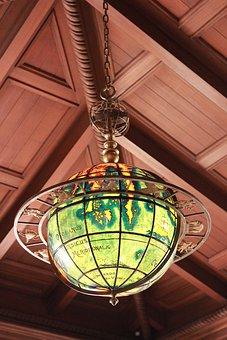 Globe, Earth, Historic, Tulsa, Old, Philbrook, Museum