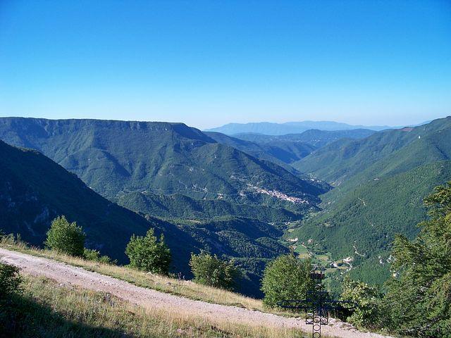 Italy, Lazio, Vallepietra