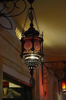 Lamp, Vintage, Retro, Antique, Decor, Bulb, Bright