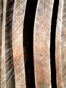 Redwood, Sculpture, Woodgrain, Texture, Wood, Natural