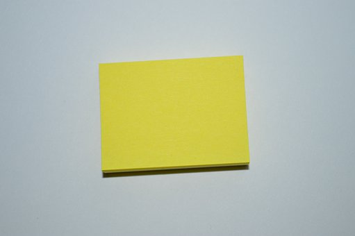 Note, Stickies, Notes, Yellow, Block, Paper