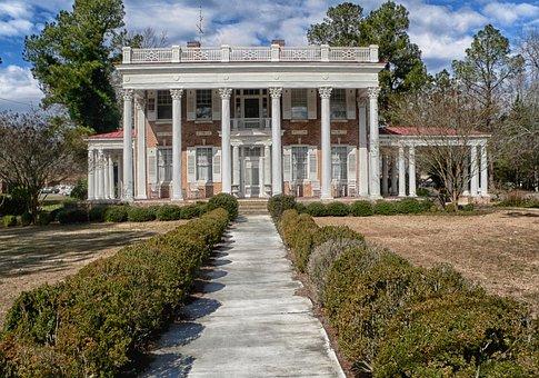 Bishopville, South Carolina, The Manor, Mansion, House