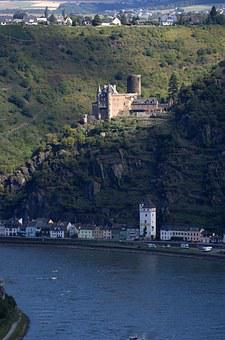 Burg Katz, Loreley, Rhine
