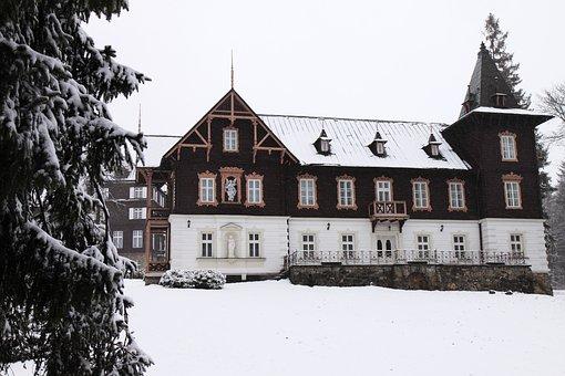 Architecture, Building, Cabin, Chalet, Cold, Cottage
