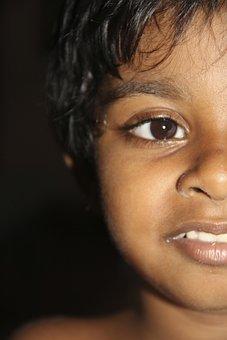 Child, Girl, Face, Eye, Female, Smile, Kid, Childhood