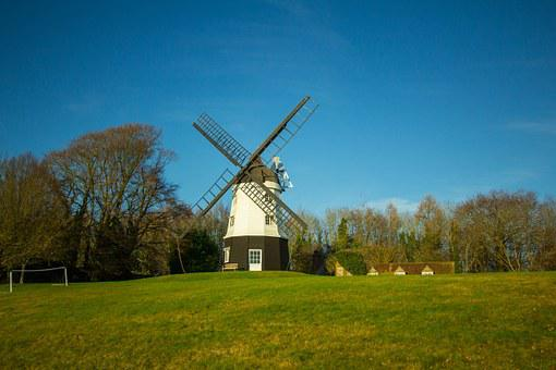 Windmill, Country, Chiltern Hills, Turville