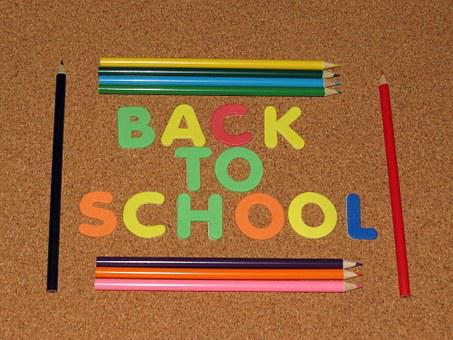 Back To School, Learning, School, Colorful, Pencil