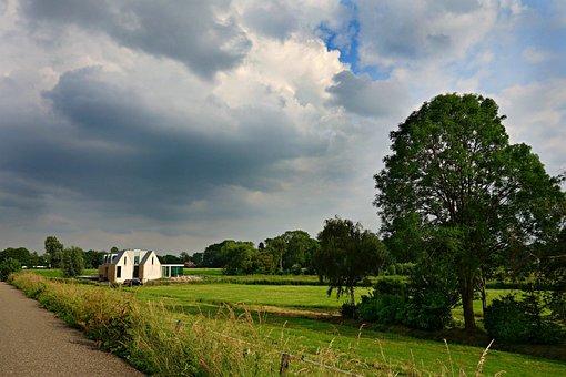 Landscape, Holland, Rural, Polder, Dutch, Countryside