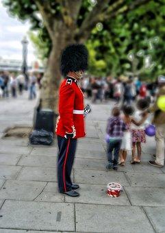 London, Guard, Buckingham, Palace, Officer, English