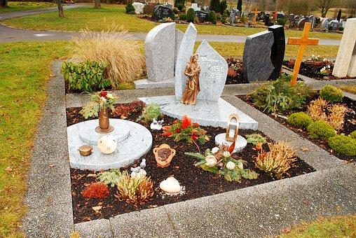 German Grave, Cemetery, Headstone, Gravestone