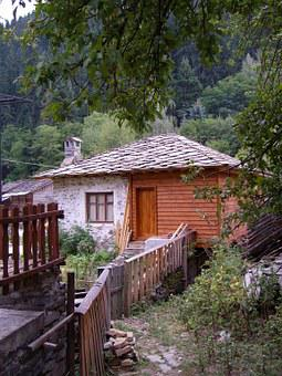 House, Village, Bulgaria, Shiroka Laka, Building, Home
