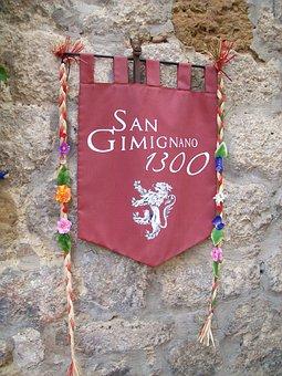 Italy, Sangimignano, Buildings, Architecture, Port