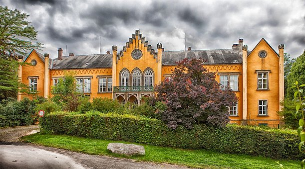 Iggenhausen, Germany, Palace, Home, House, Mansion