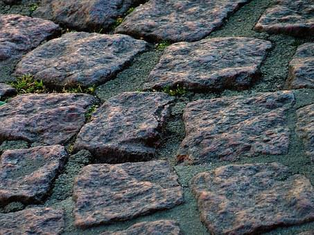 Patch, Kopfstinpflaster, Stones, Road Surface, Sidewalk