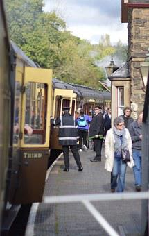 Severn Valley Railway, Arley, Steam Train
