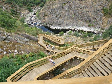 Walkways Of Paiva, Stairs, Rio, Steps