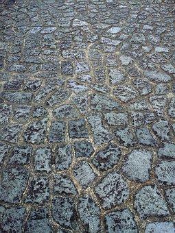 Gravel Pavement Wallpaper, Grey, Stone Road, Dark Road