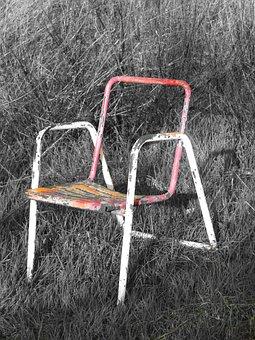 Chair, Concept, Symbol, Metaphor, Soledad, Desolacción