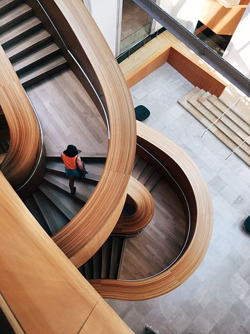 Architecture, Building, Contemporary, Design, Indoors