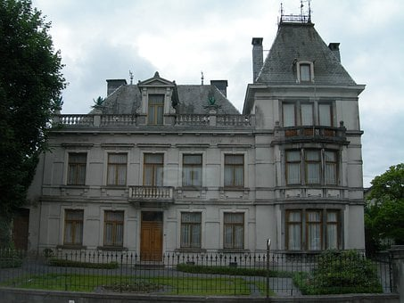 Old, House, Building, Victorian, Home, Belgium