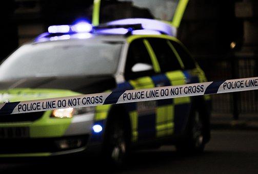 Automobile, Blur, Car, Police Car, Police Tape, Vehicle