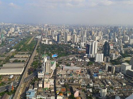 City, The Trestle, Bangkok, Megalopolis, Skyscrapers