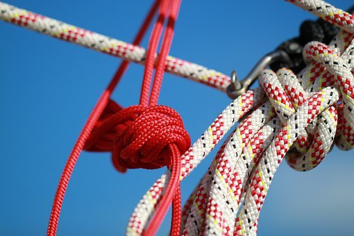 Rope, Ropes, Technology, Dew, Woven, Colorful, Port