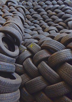 Mature, Auto Tires, Spare Parts, Texture, Disposal