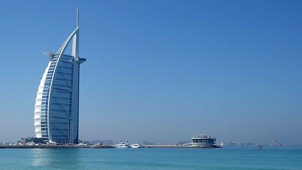 Dubai, United Arab Emirates, Burj Al Arab, Building