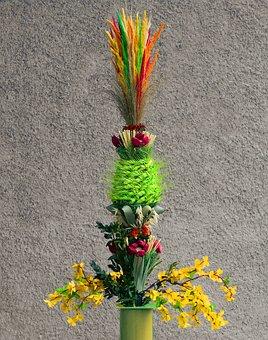 Easter Palm, Palma, Easter, Palm Sunday, Custom