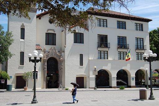 Los Angeles, Pueblo, Street, Heat, Architecture