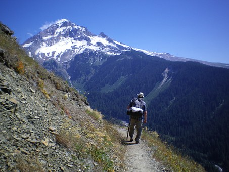 Hiking, Hiker, Mountains, Scenic, Pct, Oregon, Nature