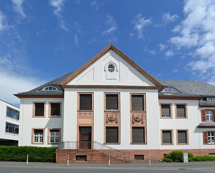 Bad Camberg, District Court, Front, Building, Historic