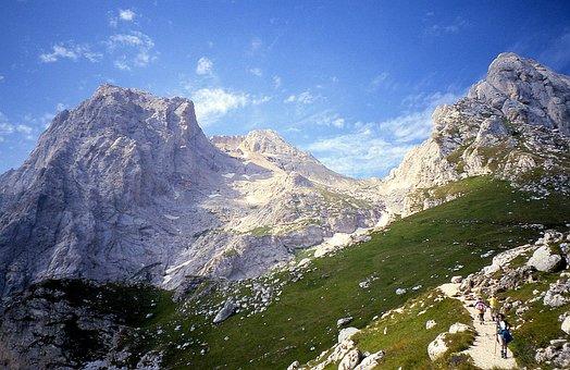 Gran Sasso, Mountains, Hiking, Trail, Italy