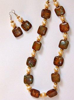 Jasper Stone, Necklace, Earring, Jewelry, Jasper, Jewel