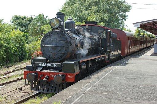 Train, Steam Engine, Locomotive, Passenger Train