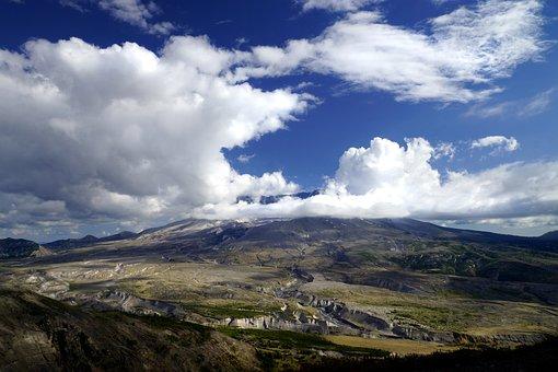 Volcano, Mt St Helens, Mountain