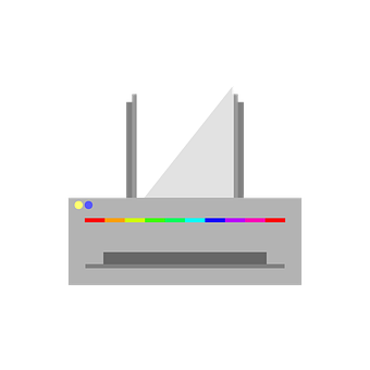 Printer, Icon, Vector, Paper, Paper Feed, A4, A3
