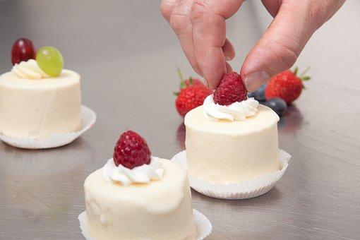 Ornate, Raspberries, Bake, Pastries, Bakery