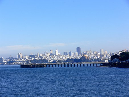 San Francisco Bay, San Francisco, Bay, City, City View