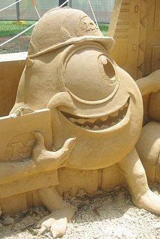 Monsters Inc, Sand Building, Kids, Entertainment, Boy
