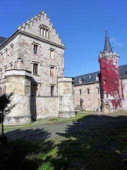 Castle, Reinhard Brunn, Saxe-coburg And Gotha