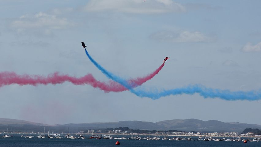 Planes, Red Arrows, Display, Show, Entertainment