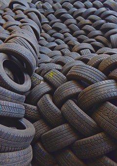 Mature, Auto Tires, Spare Parts, Texture, Disposal